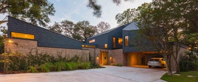 two-tone Modern house Decorative brick (9)