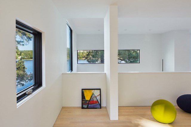 villa house Modern Style shape black dark (11)