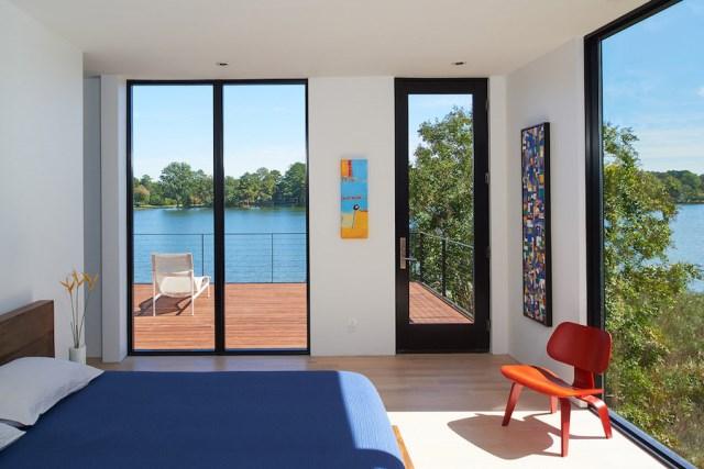 villa house Modern Style shape black dark (12)