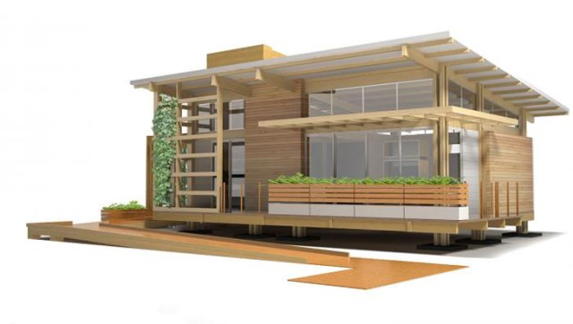 wooden Compact Modern Home (2)