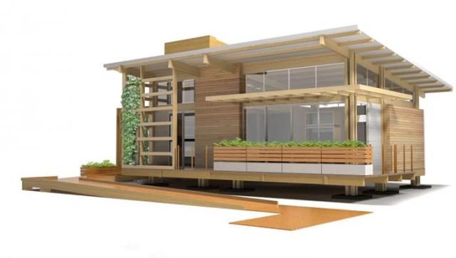 wooden Compact Modern Home (2)