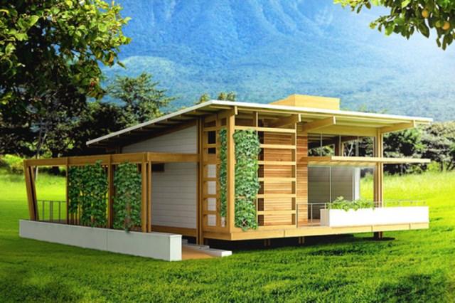 wooden Compact Modern Home (3)