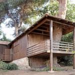 บ้านไม้อารมณ์คอทเทจ ขนาดเล็กกำลังดี สร้างให้อยู่ร่วมกับธรรมชาติ