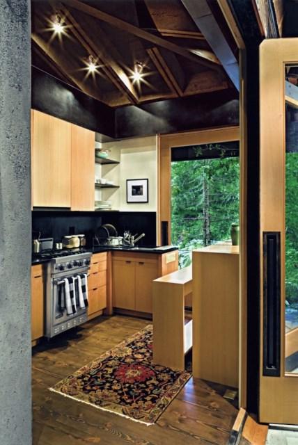 wooden Modern villa style (1)