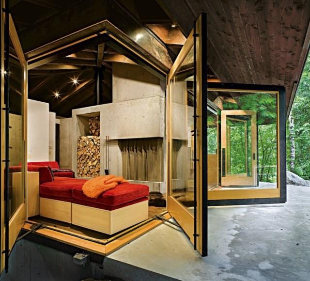 wooden Modern villa style (10)