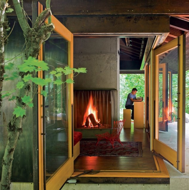 wooden Modern villa style (3)