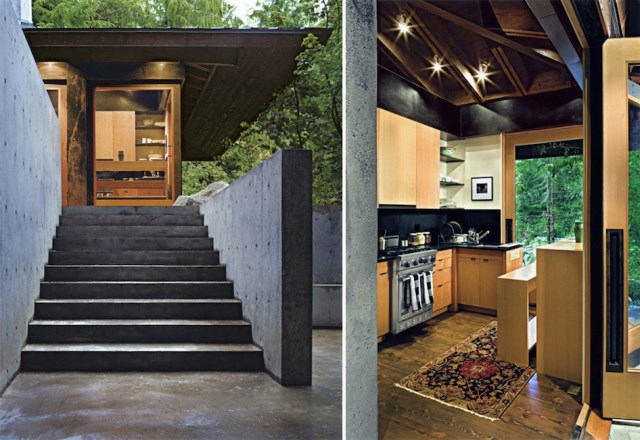 wooden Modern villa style (5)