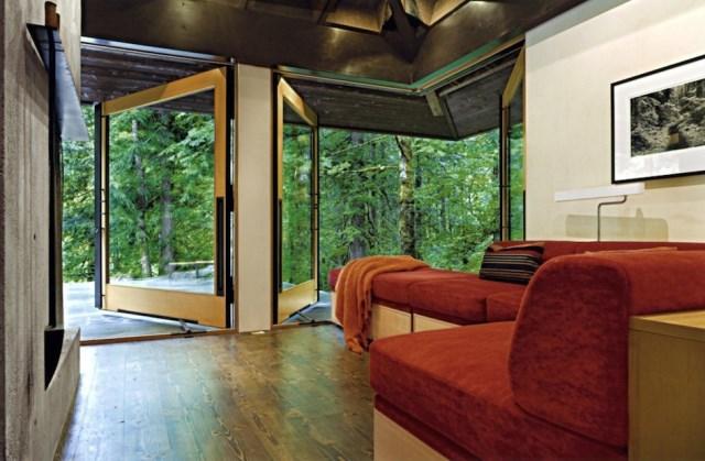 wooden Modern villa style (7)
