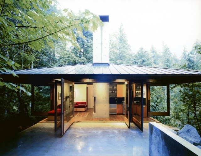 wooden Modern villa style (8)