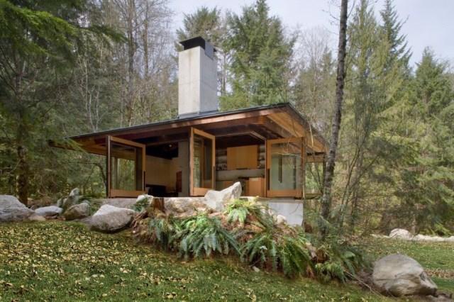 wooden Modern villa style (9)
