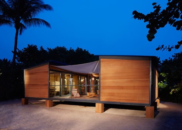 wooden beach villa house (6)