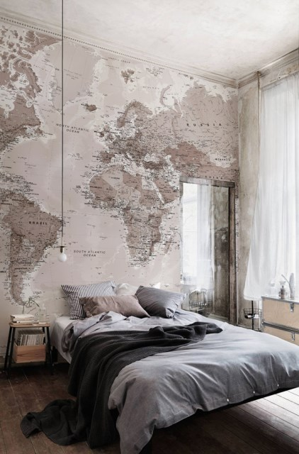 world-map-wall-mural-ideas