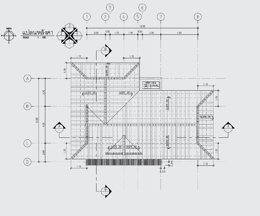 1 floor contemporary wide facade teak house (2)