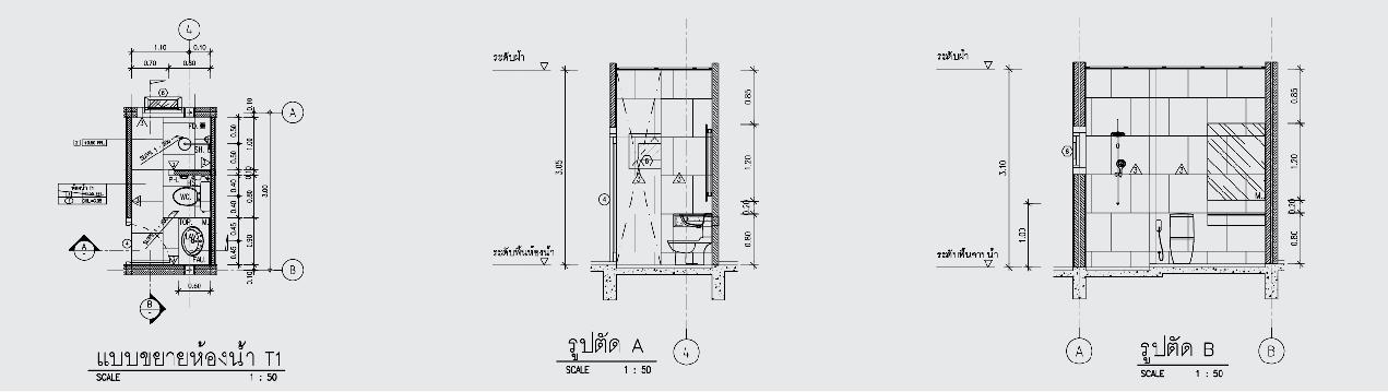 1 floor contemporary wide facade teak house (4)