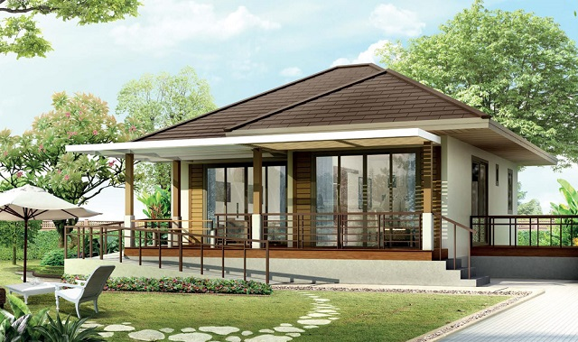 1 floor small 2 bedroom house for old age (1)
