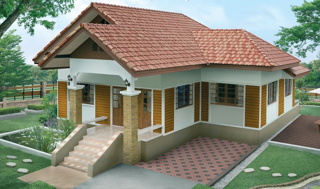 1 storey 3 bedroom contemporary house (1)