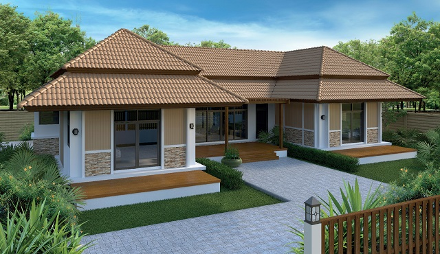 1 storey 3 bedroom nature family  house (1)
