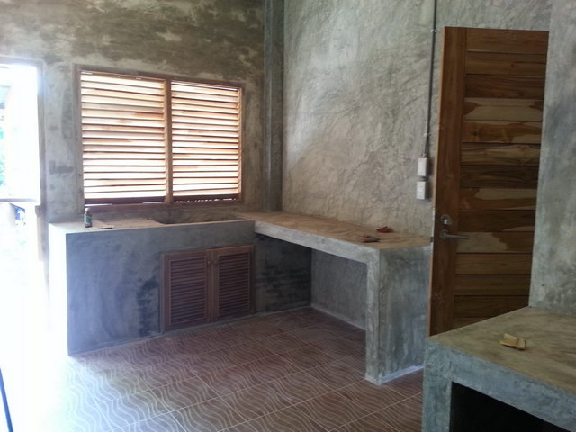 1 storey concrete wooden country house review (48)