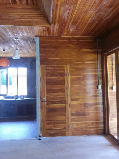1 storey concrete wooden country house review (55)