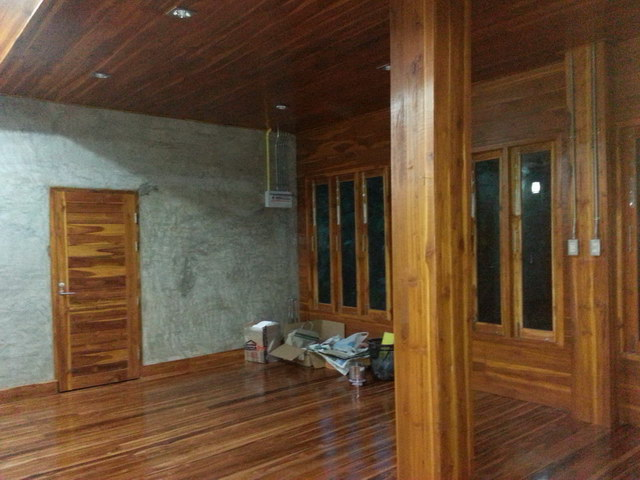 1 storey concrete wooden country house review (56)