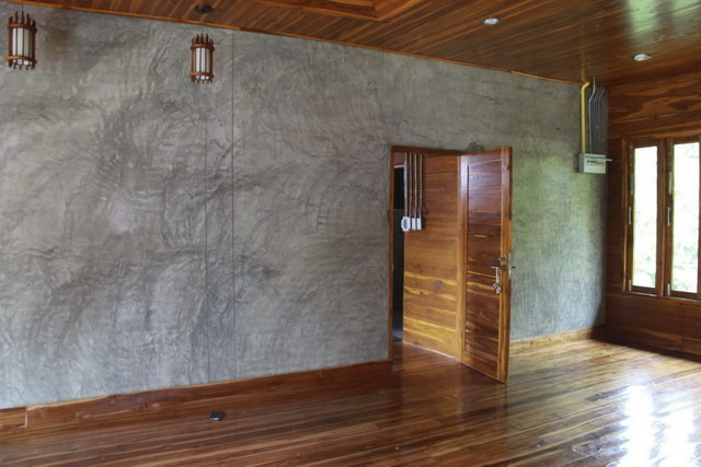 1 storey concrete wooden country house review (78)