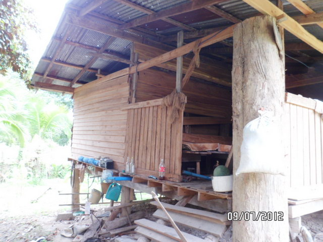 1 storey concrete wooden country house review (9)