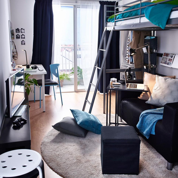 10 ideas for modern dorm rooms (5)