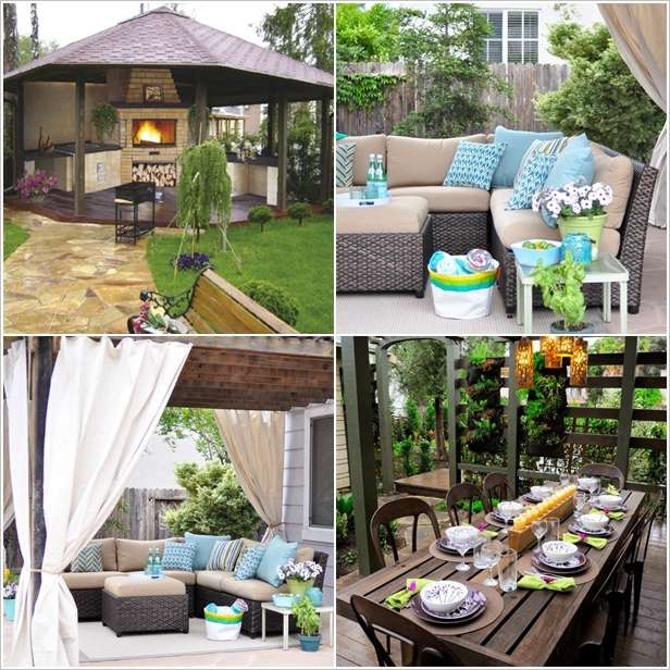 10 ideas to decorate backyard pergola (1)