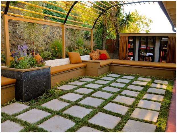 10 ideas to decorate backyard pergola (2)