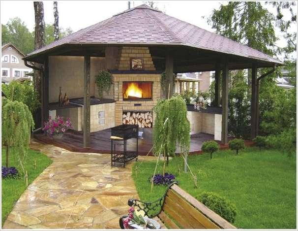 10 ideas to decorate backyard pergola (3)