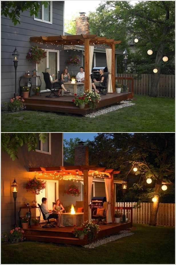 10 ideas to decorate backyard pergola (4)