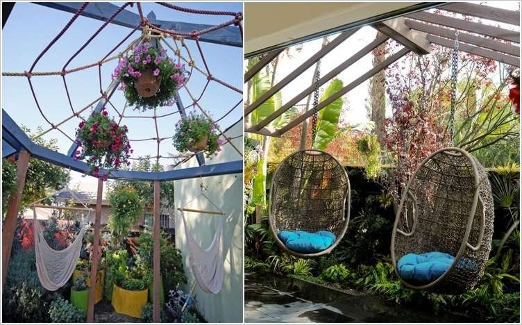 10 ideas to decorate backyard pergola (6)