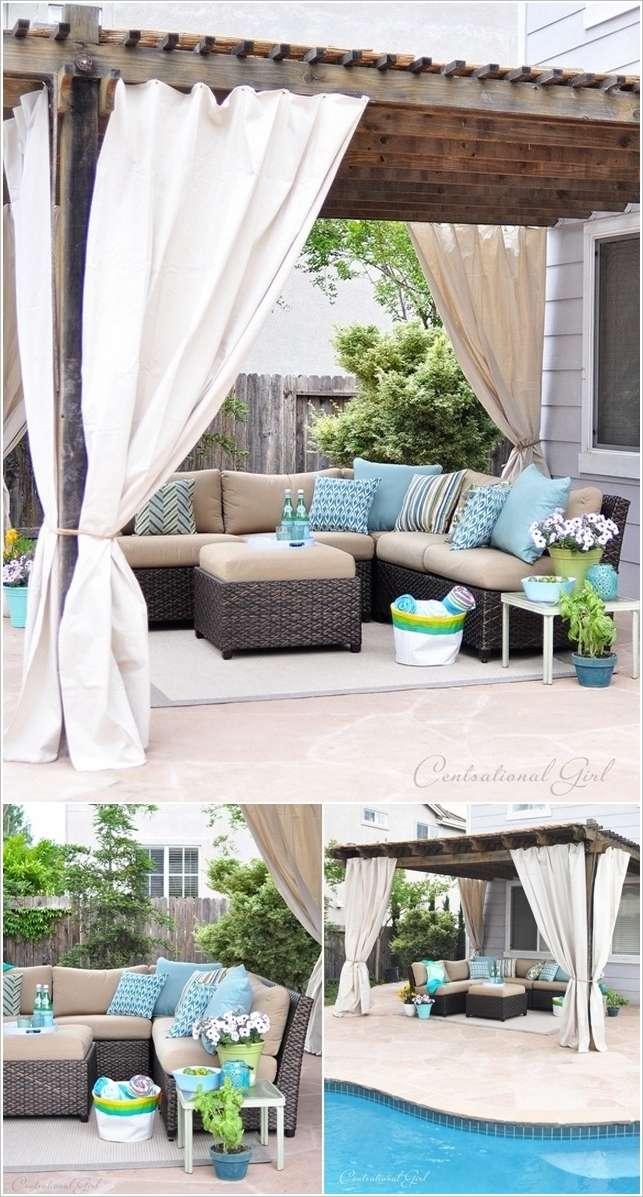 10 ideas to decorate backyard pergola (7)