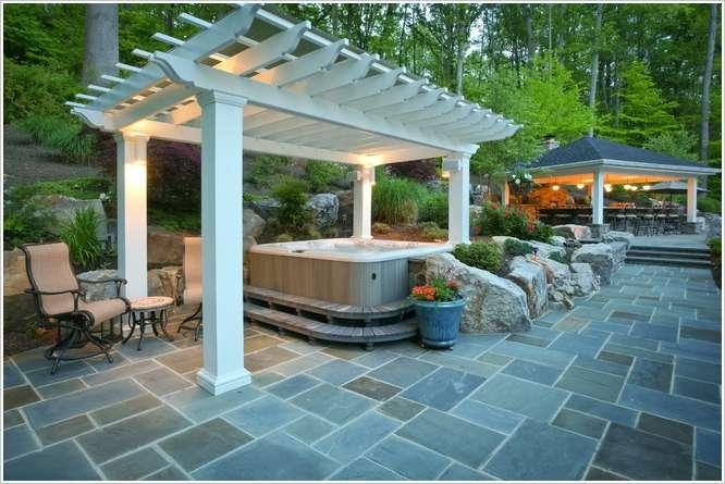 10 ideas to decorate backyard pergola (8)