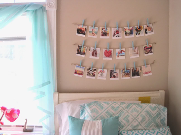 17 ideas walls decorated with pictures (11)
