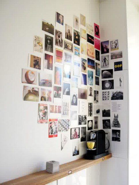 17 ideas walls decorated with pictures (12)