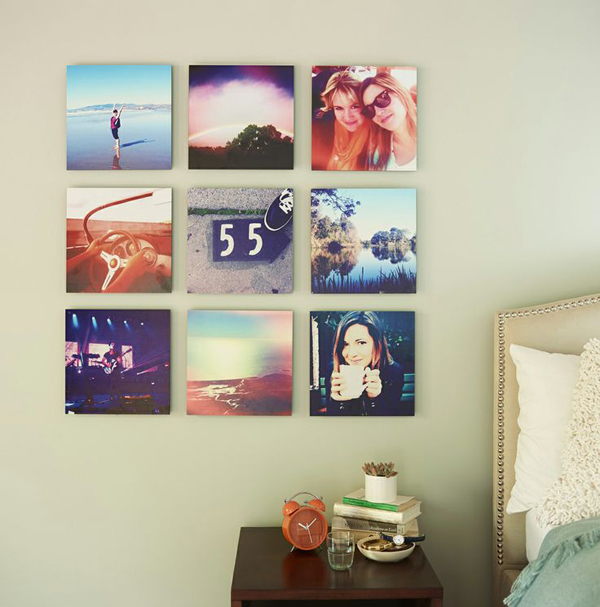 17 ideas walls decorated with pictures (14)