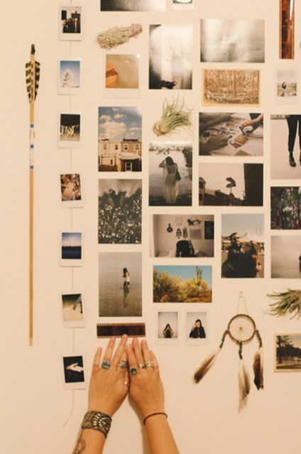 17 ideas walls decorated with pictures (16)