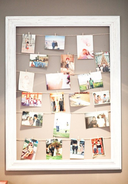 17 ideas walls decorated with pictures (17)