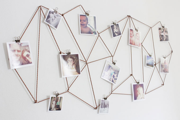 17 ideas walls decorated with pictures (18)