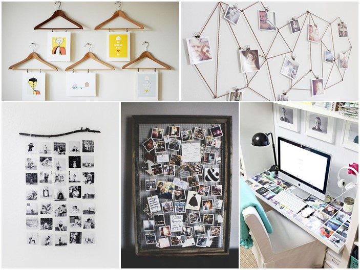 17 ideas walls decorated with pictures (3)