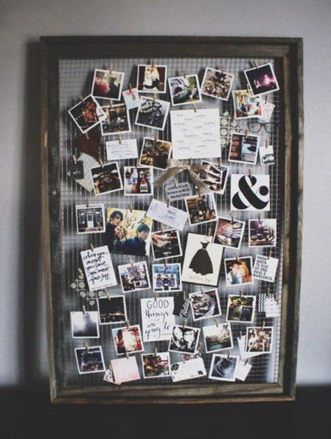 17 ideas walls decorated with pictures (6)