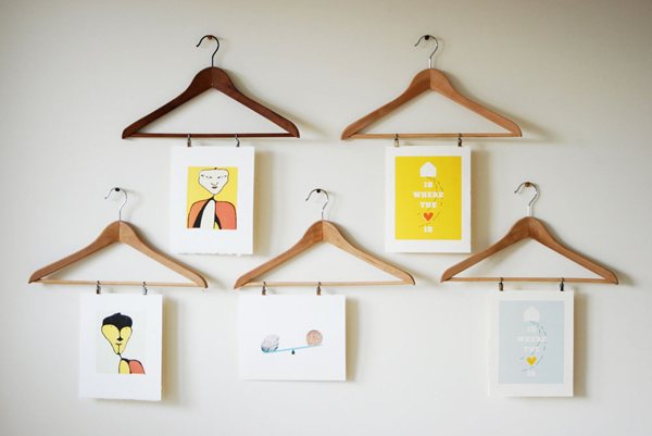17 ideas walls decorated with pictures (7)