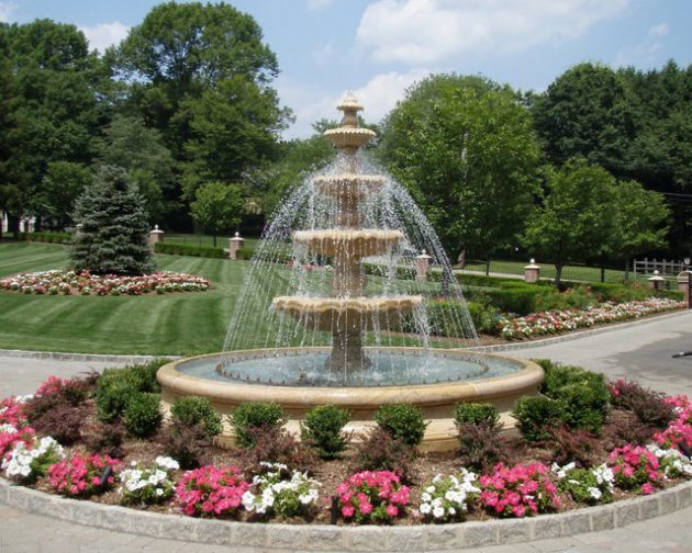19-brilliant-tiered-fountain-design-courtyard (1)