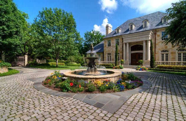 19-brilliant-tiered-fountain-design-courtyard (9)