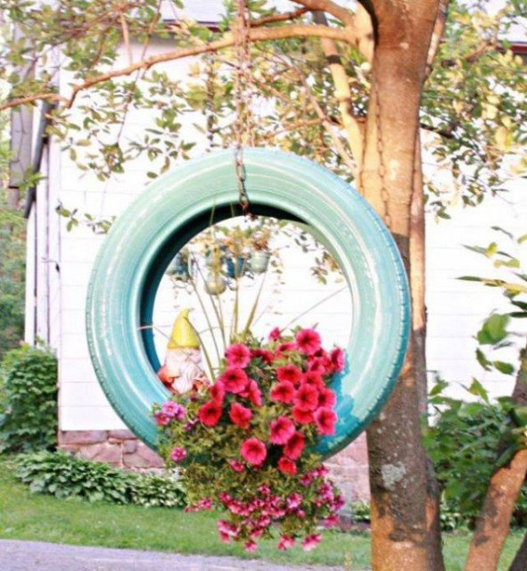 19 diy garden decorations that everyone can make (16)