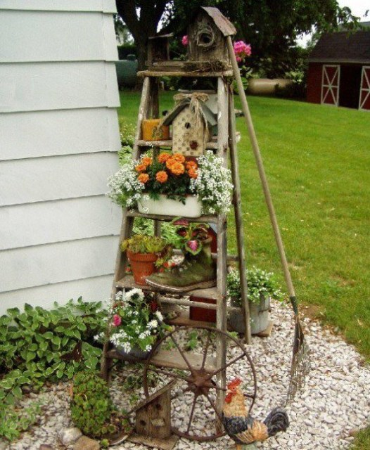19 diy garden decorations that everyone can make (8)