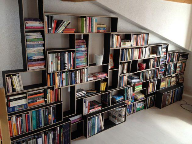 19 diy-ideas-make-stunning-bookshelf (11)