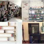 19 ไอเดียการรังสรรค์พื้นที่จัดเก็บหนังสือ ด้วยชั้นวางของหลากหลายรูปแบบ