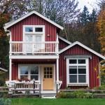 แบบบ้านคันทรี่สองชั้น ออกแบบขนาดเล็กกะทัดรัด แต่มีฟังก์ชั่นใช้สอยครบครัน